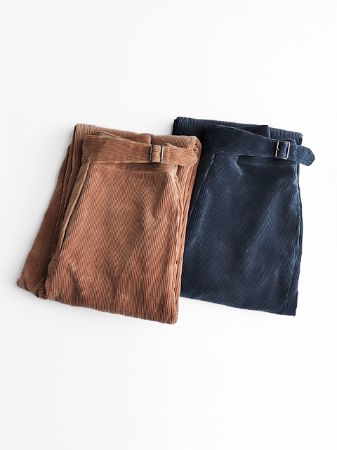 Phlannel(フランネル) Cotton Corduroy Gurkha Trousers