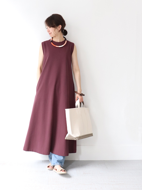 Phlannel(フランネル) Fresca Inlay Stich Summer Dress