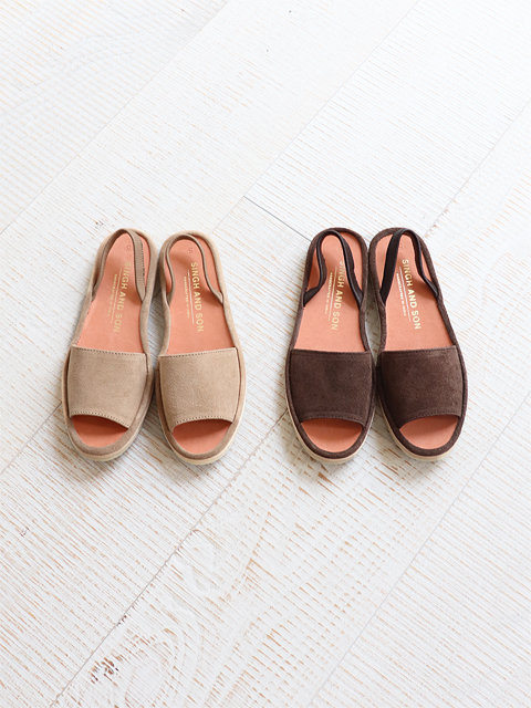 SINGH AND SON (シンアンドサン) JAIPUR SANDALS