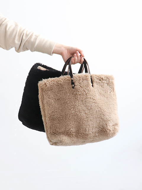 TEMBEA(テンベア) PAPER TOTE SMALL -NEW-FUR