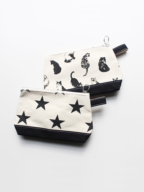 TEMBEA (テンベア)TOILETRY BAG MEDIUM -monochrome
