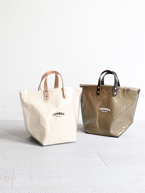 TEMBEA(テンベア)DELIVERY TOTE MEDIUM LOGO -PVC