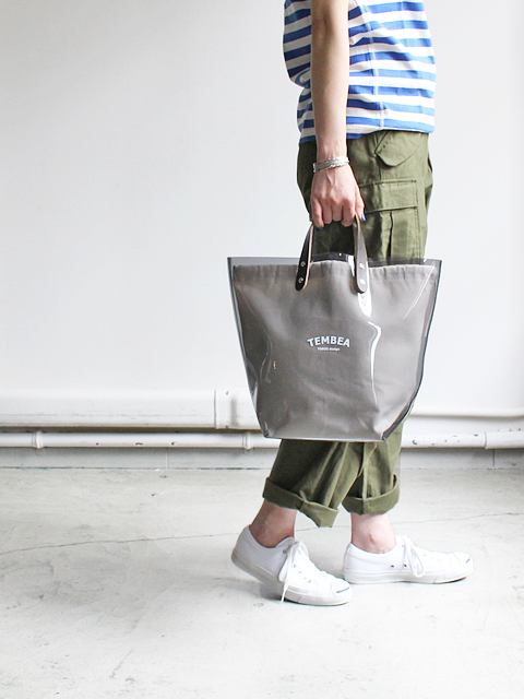 TEMBEA(テンベア)DELIVERY TOTE LOGO -PVC