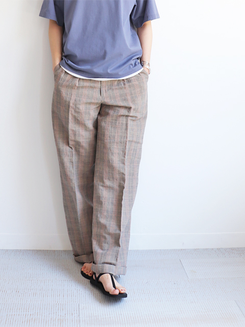 WELLDER(ウェルダー) Two Tack Wide Trousers