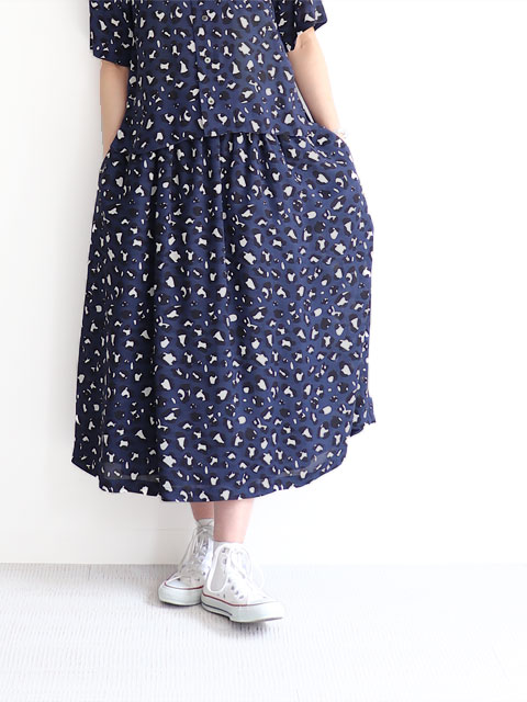WELLDER(ウェルダー) Drawstring Gather Skirt