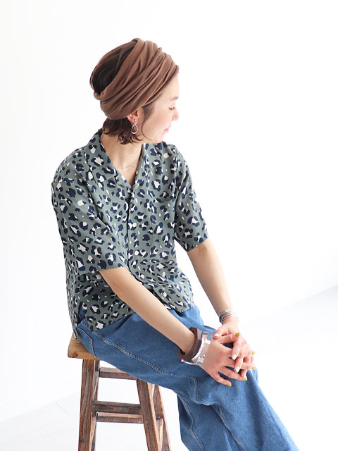 WELLDER(ウェルダー) Open Collar Shirt