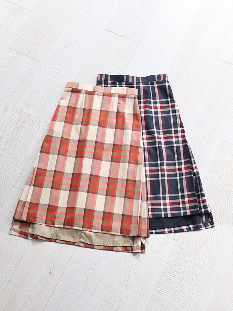 WELLDER(ウェルダー) Side Inverted Pleats Skirt
