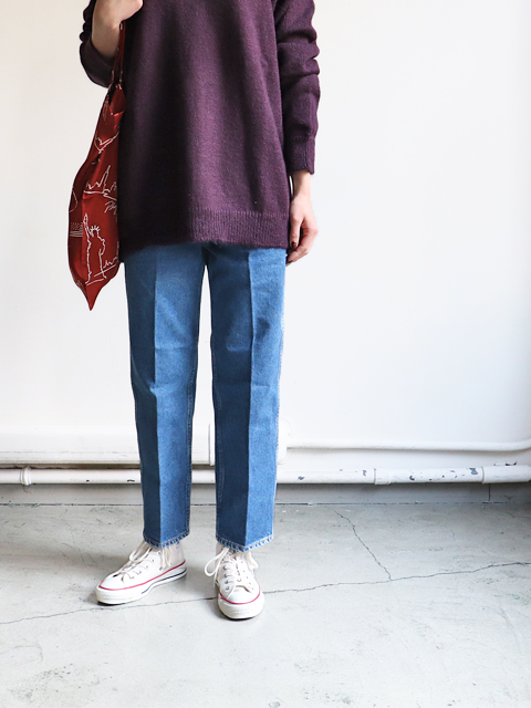 WESTOVERALLS(ウエストオーバーオールズ) 5POCKET DENIM TROUSERS. 818S-BIO BLUE