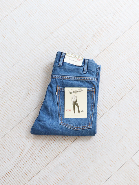 WESTOVERALLS(ウエストオーバーオールズ) 5POCKET DENIM TROUSERS. 805T- BIO BLUE