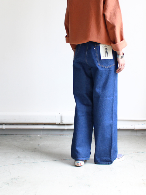 WESTOVERALLS(ウエストオーバーオールズ) 5POCKET DENIM TROUSERS. 803W-ONEWASH