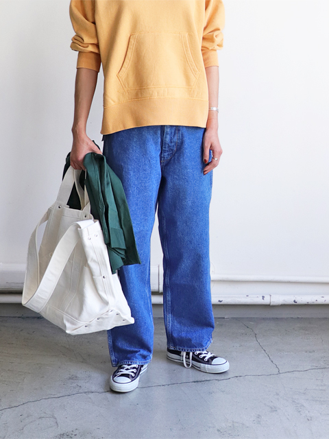 WESTOVERALLS(ウエストオーバーオールズ) 5POCKET DENIM TROUSERS. 803W-BIOBLUE