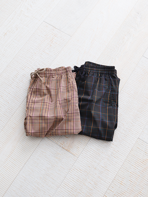 White Mountaineering (ホワイトマウンテニアリング) MULTI CHECK PAJAMA PANTS