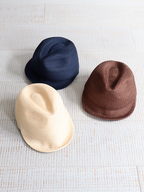 and wander(アンドワンダー) braid cap