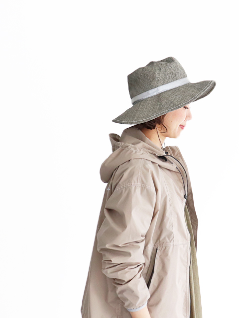 and wander(アンドワンダー) paper cloth hat