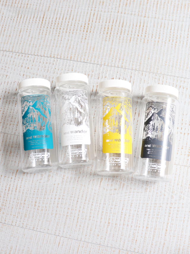and wander(アンドワンダー) nalgene bottle
