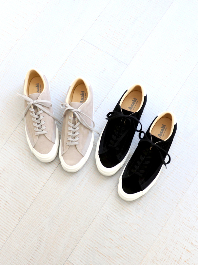 ASAHI(アサヒ) BELTED LOW SUEDE