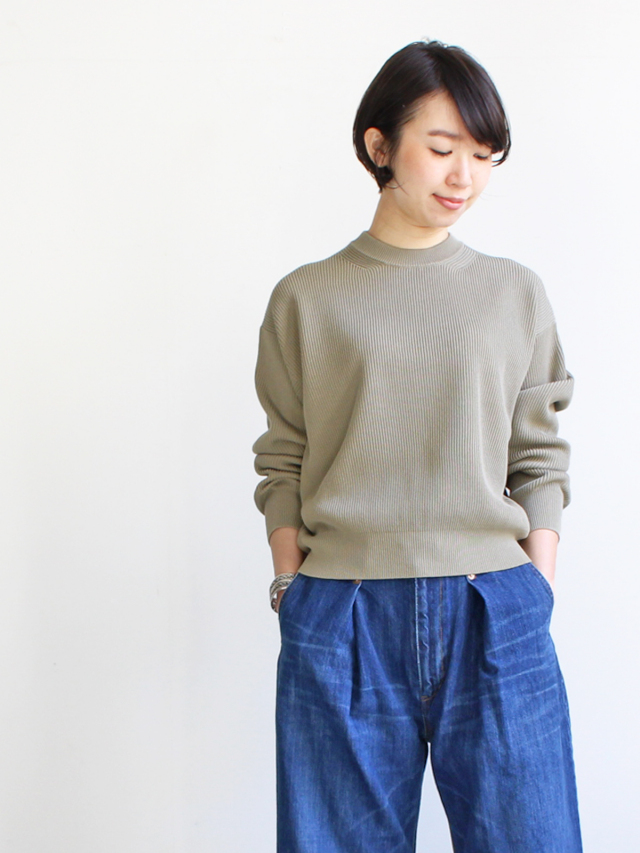 AURALEE(オーラリー) SUPER HARD TWIST RIB KNIT  PO