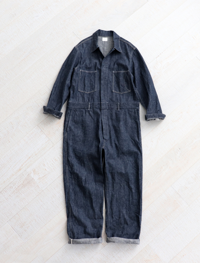 【30%OFF】A Vontade(アボンタージ) Selvedge Denim Mil.Overalls