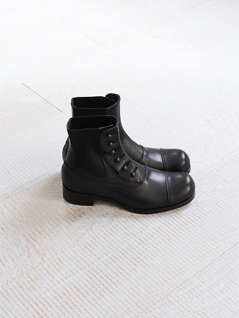 BEAUTIFUL SHOES(ビューティフルシューズ) BUTTONED SIDE GORE BOOTS