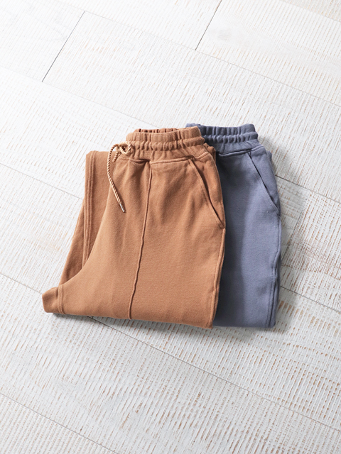 blurhms (ブラームス) Super Mild Bulky Jersey PinTuck Trousers