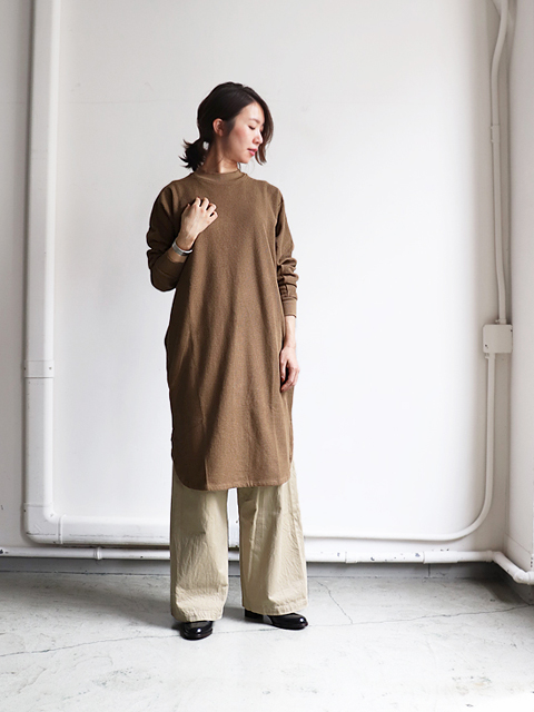 blurhms ROOTSTOCK(ブラームス ルーツストック) New Rough&Smooth Thermal  Long Tee