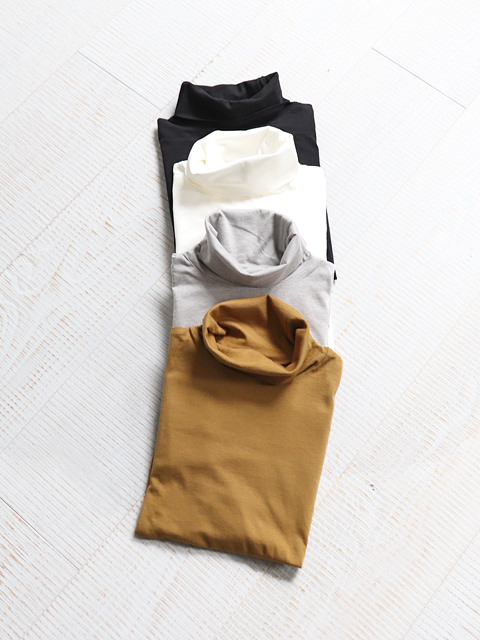 blurhms ROOTSTOCK(ブラームス ルーツストック) Silk Cotton Jersey Turtle-Neck L/S