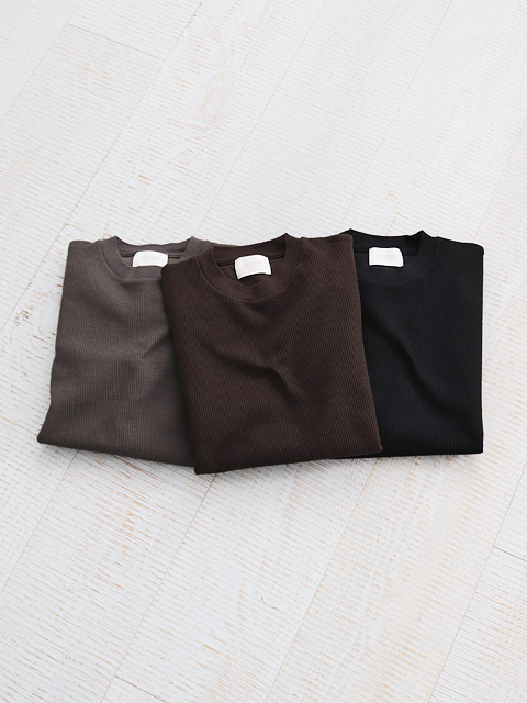 blurhms ROOTSTOCK(ブラームスルーツストック) New Rough & Smooth Thermal P/O Loose Fit