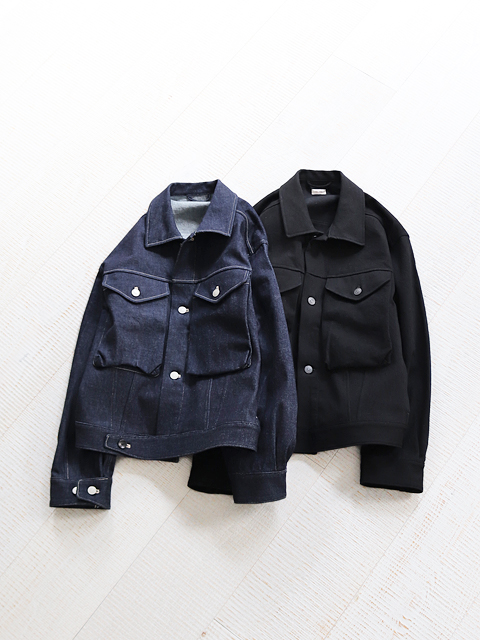 blurhms (ブラームス)  Denim Short Jacket