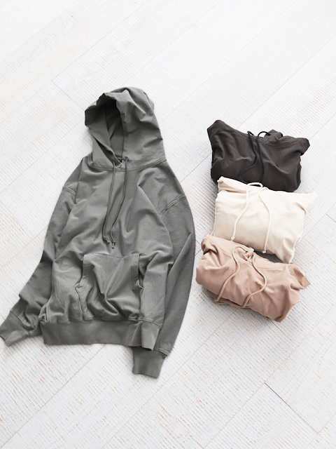blurhms(ブラームス) High Gauge Sweat Hoodie P/O