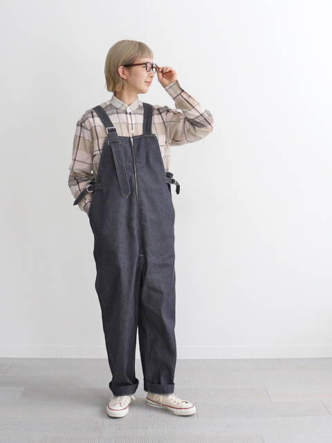 blurhms (ブラームス)  U.S Cotton Denim Overalls