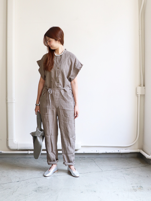 blurhms (ブラームス) French Linen Jumpsuit
