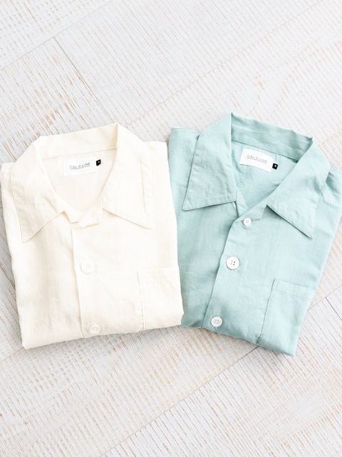 CAL O LINE(キャルオーライン)  OPEN COLOR S/S SHIRT