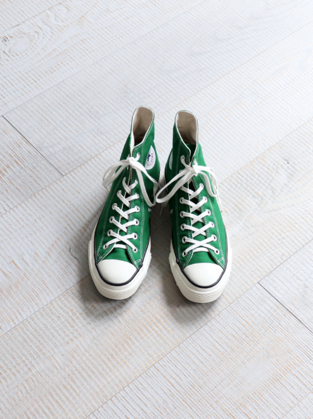CONVERSE(コンバース) CANVAS ALL STAR J HI -GREEN