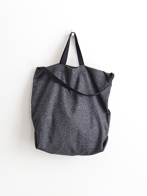 ENGINEERED GARMENTS(エンジニアードガーメンツ) Carry all tote w/strap - Wool Homespun