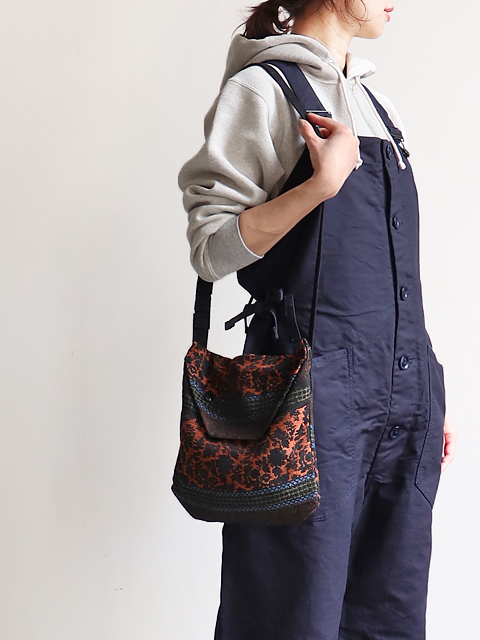 ENGINEERED GARMENTS(エンジニアードガーメンツ) Shoulder pouch -Ethnic floral jacquard