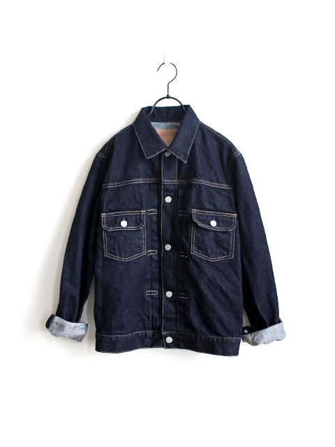 HATSKI(ハツキ) 2Pocket Denim Jacket -One Wash