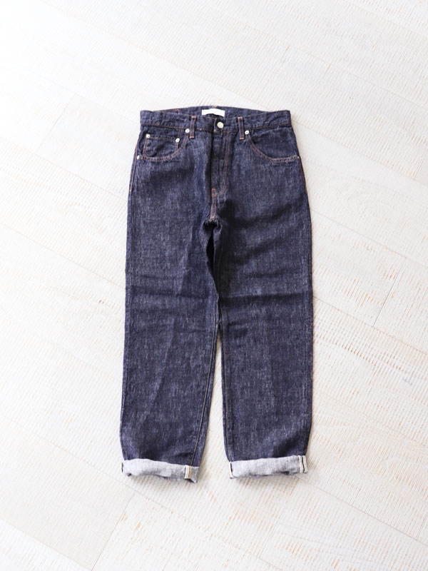 HATSKI(ハツキ) Regular Tapered Denim -Linen