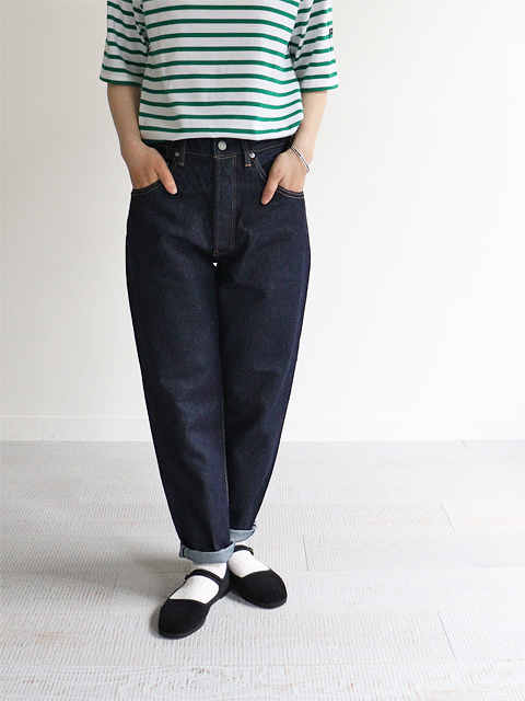 HATSKI(ハツキ) Loose Tapered Washi Denim