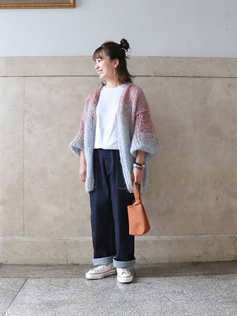 HATSKI(ハツキ) Denim Fatigue Pants -One Wash