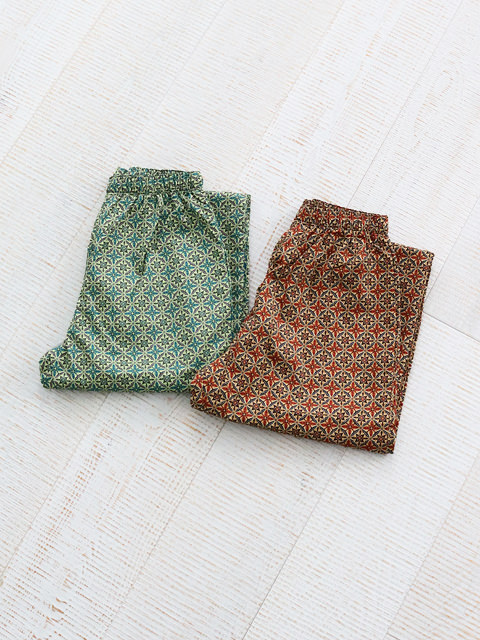 HOLDFAST(ホールドファスト) CHEFS TROUSERS -Paisley Print