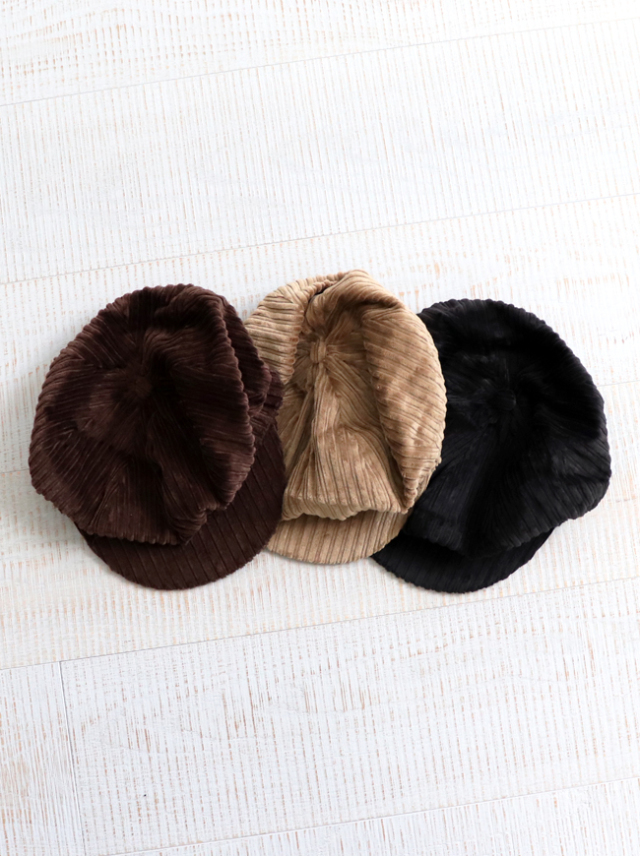 Hollingworth(ホーリングワース)Countru Outfitters Baker Boy Hat -Corduroy