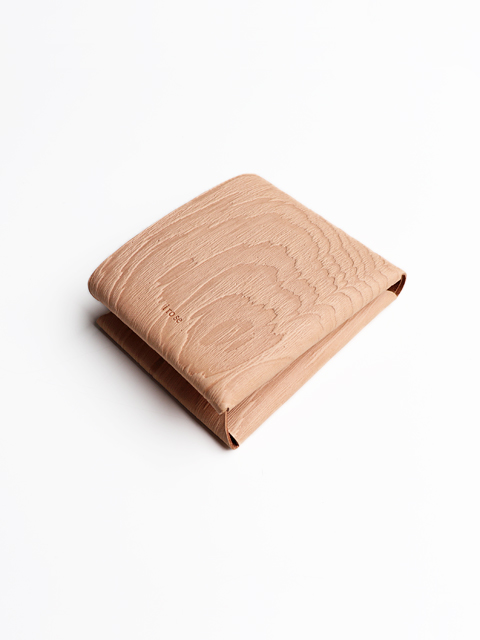 i ro se(イロセ) SEAMLESS  SHORT WALLET -wood