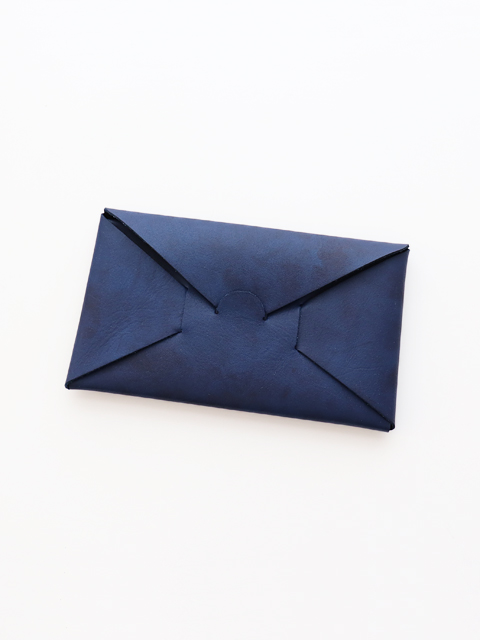 i ro se(イロセ) SEAMLESS LONG WALLET -Indigo