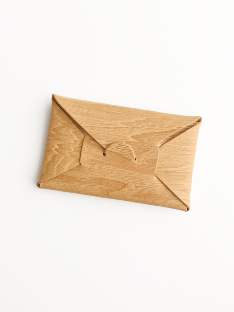 i ro se(イロセ) SEAMLESS CARD CASE -wood