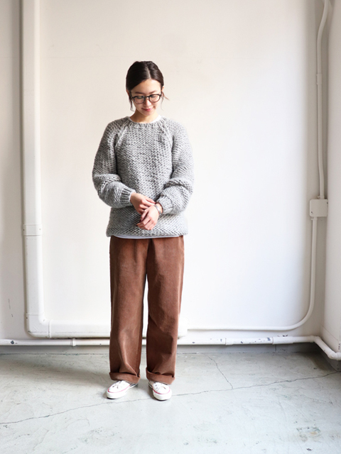 Maiami (マイアミ) Wool Basic Sweater
