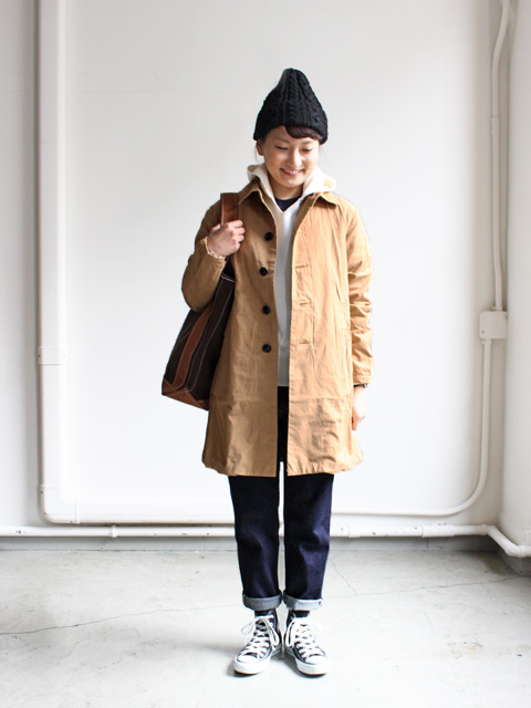 maillot T/C Double Cloth Coat (ダブルクロスコ-ト) MAO-15222