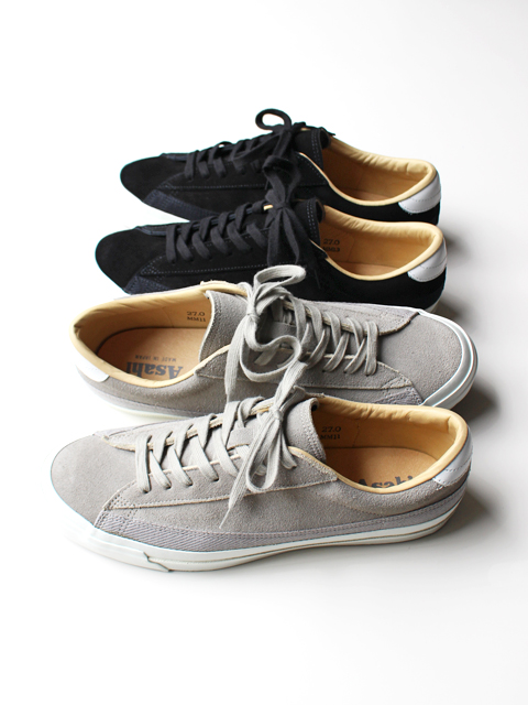ASAHI (アサヒ) BELTED LOW SUEDE