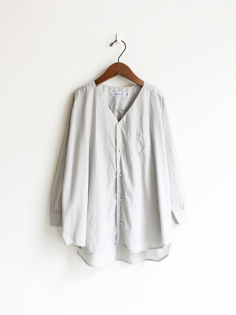 【30%OFF】ORDINARY FITS(オーディナリーフィッツ) V NECK BARBER SHIRT