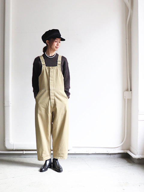 Ordinary fits(オーディナリーフィッツ) DUKE  OVERALL -chino