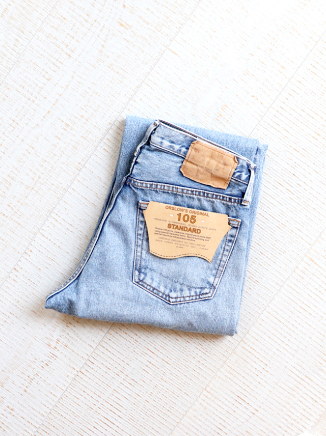 orslow(オアスロウ) 90's STANDARD DENIM 105 -2Year Wash